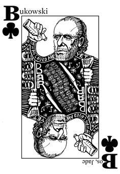 Charles Bukowski ❤️ Henry Charles Bukowski, Charles Bukowski Quotes, Sailor Moon, Grunge Art, Story Writer, American Poets, Tarot, Cool Stuff, Fan Art