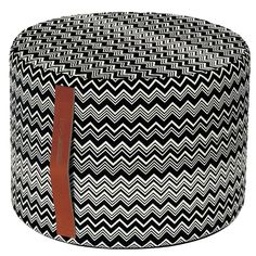 Missoni Home Cylindre Tobago Missoni, Nordic Home, Geometry Art, Home Decor Online, Leather Handle, Home Interior Design, Modern Design, Objects, Black And White