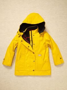 Hunter Boot - Boys Rain Coat