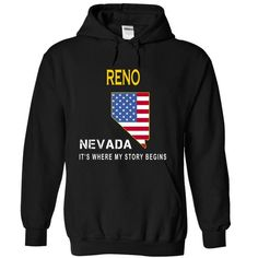 RENO - ITS WHERE MY STORY BEGINS T-SHIRTS, HOODIES, SWEATSHIRT (34$ ==► Shopping Now)