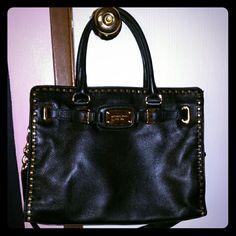Black Micheal Kors Bag