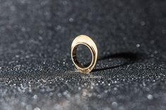 Gold Plated Ring Delicate Ring Stacking Rings by iamGitelman