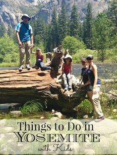 Visiting Yosemite National Park with kids? Suggestions and ideas for things to do while there that will help you create amazing memories with your family. Even a list of FREE things to do in Yosemite. #AlamoDriveHappy #ad