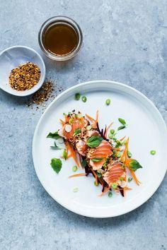 Tataki de saumon ! Un delice