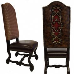 24 best old world tuscan style accent chairs images leather rh pinterest com