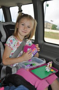 Roadtrip Hacks – Lego Case… ** Do this one.  Use a pencil case from Walmart! :)