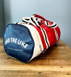 Vintage Style Gym Bag – Larry s Goods LLC Retro Gym 8705923595990