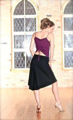 comfy tango skirts. Tango. Salsa. ballroom dancing. www.mavalou-shop.com