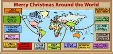 Merry Christmas around the World