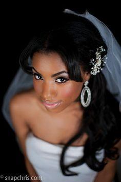 bridal makeup for black women