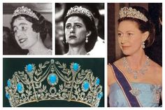 For the Turquoise Triumph of Love tiara wearers, Elizabeth and Margaret.  https://uk.pinterest.com/d7fc7c0c/tiaras-unlimited-the-turquoise-tiara-of-elizabeth-/