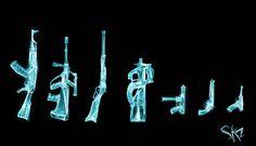 Gun Bones – Armes Anatomiques et Rayons X