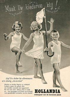 1950s Hollandia underwear advertisement