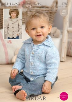 Children's Jackets in Sirdar Snuggly DK