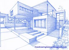 perspective, drawing and sketching --- Visir our shop canvart art --- drawing architecture portfolio design old photography model concept presentation art architecture plan building logo facade interior architecture sketchbook architecture Landscape Architecture Model, Art Et Architecture, Landscape Sketch, Landscape Design Plans, Landscape Art, Architecture Portfolio, Contemporary Architecture, 2 Point Perspective Drawing, Perspective Art