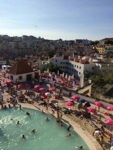 Jardim do Torel - Praia urbana em Lisboa no mês de Agosto #viajecomigo