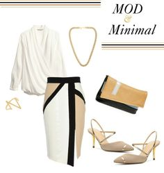 Mod and Minimal, Outfit Ideas, Fashion, Style