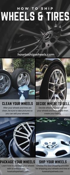 The definitive guide on how to ship wheels & tires. Simple step by step instructions on how to prepare a wheel shipment and print a shipping label. Rims And Tires, Wheels And Tires, Car Wheels, Discount Tires, Where To Sell, Shipping Label, Ship Wheel, Step By Step Instructions, Tired