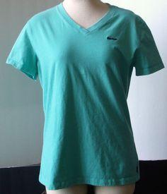 Reebok Women's Workout Athletic V-Neck T-shirt – Size Large #Reebok #BasicTee
