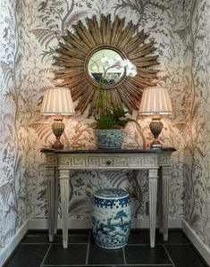 Bird and Thistle - A Timeless Classic by Brunschwig & Fils - The Glam Pad