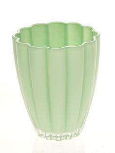 Vase Bloom Hemlock Green