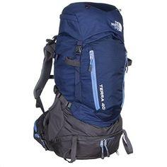 The North Face Terra 40 Womens Backpack 2016 - Medium-Large/Patriot Blue-Persian Jewel, Blue