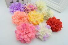 1 unids 2016 nuevas flores artificiales de seda de flores de cola corona de bricolaje de flores artificiales materiales flor del tocado prendas de vestir sombrero(China (Mainland))