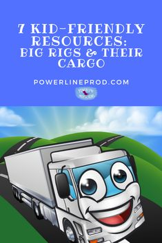 7 Kid-Friendly Resources: Big Rigs & Their Cargo by Meredith Curtis/Powerline Productions.  Children are fascinated by huge 18-wheelers that share the road with our family cars and minivans. We love to point out big rigs by color. However, you don't have to stop with colors. It's fun to learn about what's inside those giant trucks. #HomeschoolingTrucks #HomeschoolingResources Geography Games, Philosophy Of Education, Learning Styles, Preschool Kindergarten, Home Schooling, Hands On Activities, Read Aloud, Pre School, Rigs