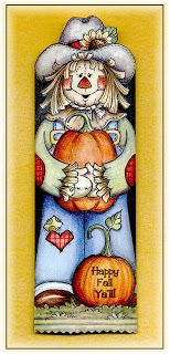 Scarecrow Candy Bar Slider Freebie