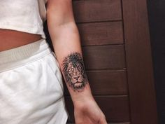 Here you will see a collection of 56 most fearsome and beautiful lion tattoos ever created; girly lion tattoos and lion tattoos for females Infinity Tattoo On Wrist, Wrist Tattoos For Guys, Infinity Tattoos, Symbolic Tattoos, Unique Tattoos, Small Tattoos, Cool Tattoos, Female Lion Tattoo, Mens Lion Tattoo