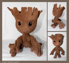 SALE: Chibi Groot inspired plush by MrsVolv I want a Groot!!