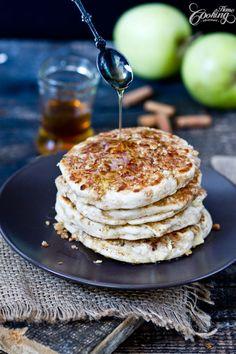Apple Crisp Pancakes - wonderful taste and texture