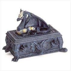 Polyresin Dragon Box - Style 37772 by Gift Warehouse, http://www.amazon.com/dp/B000VYSDH2/ref=cm_sw_r_pi_dp_N6eJpb0NEC87R  List Price: $22.99   Price: $13.04