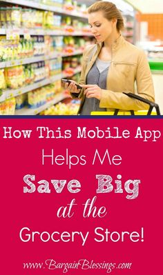 Can this app actually help save you money at the grocery store? Put the money you save towards the down payment of you new home!