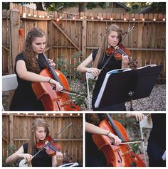A violin and a cello is really all you need for elegant ceremony music