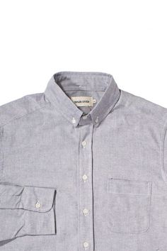 Charcoal Oxford Jack – Taylor Stitch