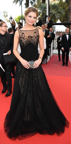 The Best Looks from the 2016 Cannes Film Festival Red Carpet - Mischa Barton from InStyle.com