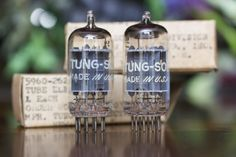 Tungsol 5814a matched vacuum tubes