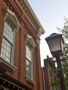 Love these historic old buildings... Downtown Frederick, Maryland