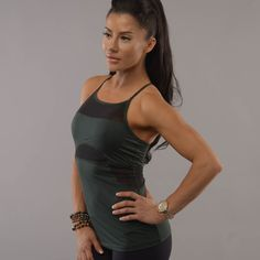 The Fair Square Racerback Tank is designed for the ultimate workout, this highly streamlined silhouette fitting racerback tanks is great for all activities.