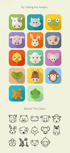 My Talking Pet Avatars/Icons by 2014 NunoDias (@nunodi_as) | Pinned Time: 20140918 20:37, Taipei Time