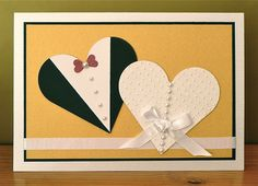 Great idea - lots of hearts on ARTISTE and ART PHILOSOPHY Cricut cartridges about marriage: cards marriage 2013 | wedding cards 2014