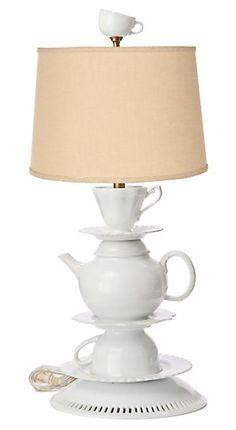 32 best teacup lamps images teapot lamp transitional chandeliers rh pinterest com