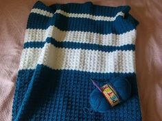 How To Crochet Baby Waves Afghan - YouTube