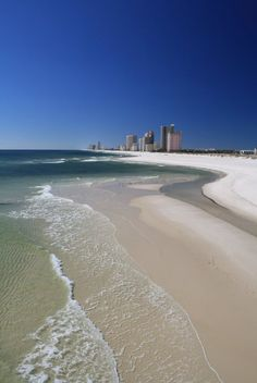 Gulf Shores, Alabama... I can't wait to be walking on this beach!