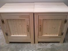 Ana White | Kentwood Pair of Night Stands or End Tables - DIY Projects