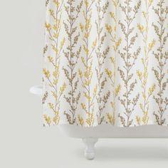 Willow Branches Shower Curtain | World Market
