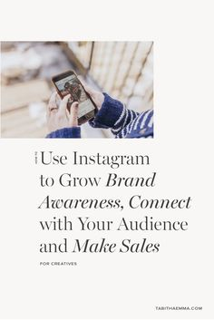 How to showcase your creative brand, build awareness, connect with your audience and make sales through Instagram. The kind of things to post on Instagram to grow your brand and the best place to learn how to sell on Instagram. Create A Brand Logo, Creating A Brand, Selling On Instagram, Creative Business, Business Tips, Interior Design Business, Graphic Design Tips, Brand Building, Sales And Marketing