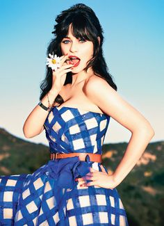 """"""" We can't be feminine and be feminists and be successful? I want to be a fucking feminist and wear a fucking Peter Pan collar. So fucking what?""""-- Zooey Deschanel in Glamour"""