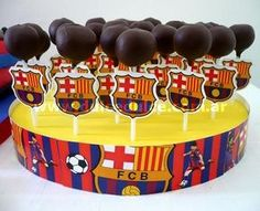 Fiesta de Antuan Y papi Luis Soccer Birthday Parties, Football Birthday, Soccer Party, 10th Birthday, Dj Party, Fiesta Party, Barcelona Party, Dino Cake, Party Cakes